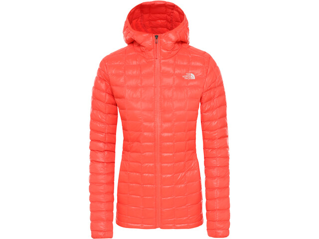 The North Face ThermoBall Eco Hoodie Jacket Dam Radiant Orange